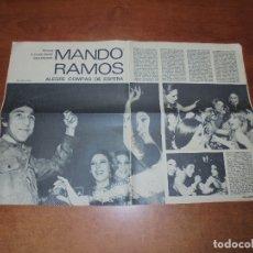 Coleccionismo de Revistas y Periódicos: RETAL 1971: BOXEO: MANDO RAMOS. Lote 195476788