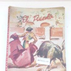 Coleccionismo de Revistas y Periódicos: EL RUEDO Nº378,AÑO 1951 -REVISTA TAURINA-TOROS-TAUROMAQUIA-TORERO. Lote 177022264