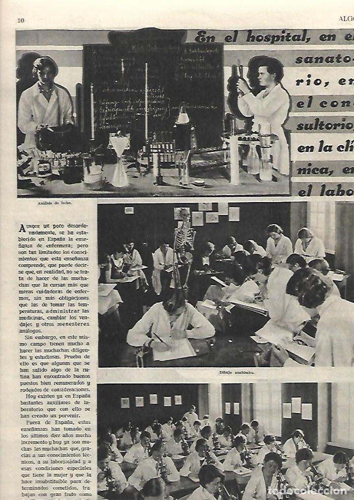 Coleccionismo de Revistas y Periódicos: AÑO 1933 MARIPOSAS VALLE DEL BAZTAN NAVARRA ESCUELA ENFERMERIA PERLAS ARTIFICIALES HALL TIROL - Foto 2 - 10121952