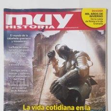 Coleccionismo de Revistas y Periódicos: REVISTA MUY HISTORIA. LA VIDA COTIDIANA EN LA EDAD MEDIA ESPAÑOLA. TDKR62. Lote 177115218