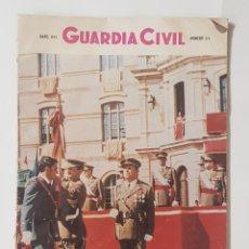 Coleccionismo de Revistas y Periódicos: REVISTA GUARDIA CIVIL. Nº373. AÑO 1975. ENTREGA DE DESPACHOS EN ZARAGOZA. TDKR62. Lote 177116387