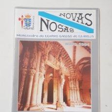 Coleccionismo de Revistas y Periódicos: NOVAS NOXAS. AÑO 2004. CENTRO GALEGO DE LA RIOJA. TDKR62. Lote 177116459