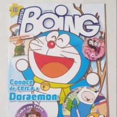 Coleccionismo de Revistas y Periódicos: REVISTA BOING.Nº31. FEBRERO 2014. CONOCE DE CERCA A DORAEMOS. TDKR62. Lote 177118552