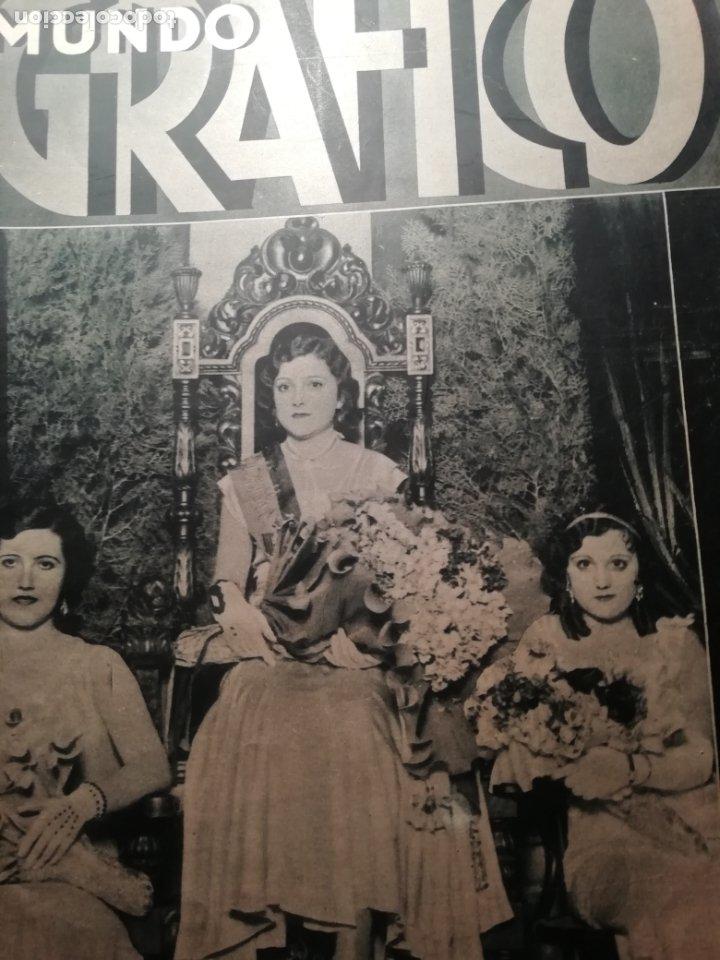 MUNDO GRAFICO Nº 1068 1932 COHETES VALENCIANOS GODELLA-CASTILLO DE LOS MOROS(CARTAGENA) (Coleccionismo - Revistas y Periódicos Antiguos (hasta 1.939))