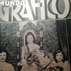 Coleccionismo de Revistas y Periódicos: MUNDO GRAFICO Nº 1068 1932 COHETES VALENCIANOS GODELLA-CASTILLO DE LOS MOROS(CARTAGENA). Lote 177121350