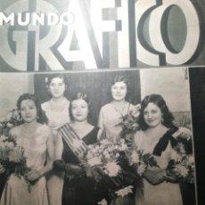 Coleccionismo de Revistas y Periódicos: MUNDO GRAFICO Nº 1097 1932 LA VENDIMIA EN EL CAMPO DE TARRAGONA:CONSTANTI Y SECUITA. Lote 177122329