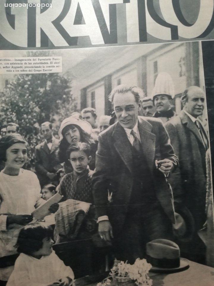 MUNDO GRAFICO Nº 1067 1932 SAN JULIAN SEVILLA-PRESIDENTE EN BALEARES -BENAGEBER-BETIS (Coleccionismo - Revistas y Periódicos Antiguos (hasta 1.939))