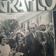 Coleccionismo de Revistas y Periódicos: MUNDO GRAFICO Nº 1067 1932 SAN JULIAN SEVILLA-PRESIDENTE EN BALEARES -BENAGEBER-BETIS. Lote 177126329