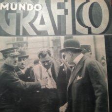 Coleccionismo de Revistas y Periódicos: MUNDO GRAFICO Nº 1067 1932 ASESINATO PRESIDENTE REPUBLICA FRANCESA- LA PUNTA(VALENCIA). Lote 177126644