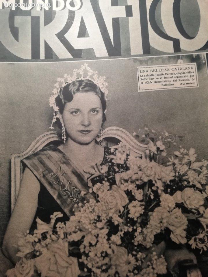 MUNDO GRAFICO Nº 1059 1932 MARIA DE MAEZTU- POETA DE CAMPANET(BALEARES) (Coleccionismo - Revistas y Periódicos Antiguos (hasta 1.939))
