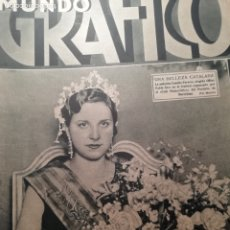 Coleccionismo de Revistas y Periódicos: MUNDO GRAFICO Nº 1059 1932 MARIA DE MAEZTU- POETA DE CAMPANET(BALEARES). Lote 177127192
