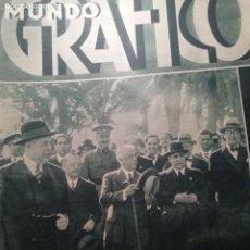 Coleccionismo de Revistas y Periódicos: MUNDO GRAFICO Nº 1055 1932 PORT DE LA SELVA-PRESIDENTE EN ALICANTE Y ELDADIADA AGULLA IGUALADA. Lote 177128255