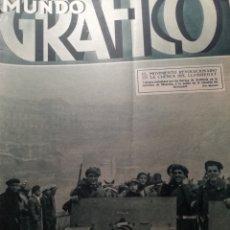 Coleccionismo de Revistas y Periódicos: MUNDO GRAFICO Nº 1056 1932 SUCESOS ALTO LLOBREGAT:BERGA SALLENT,SURIA -MURCIA-MANILA JOSE RIZAL. Lote 177134992