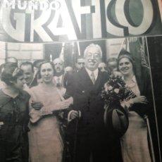 Coleccionismo de Revistas y Periódicos: MUNDO GRAFICO Nº 1090 1932 FIRMA DEL ESTATUTO CATALAN ALCALA ZAMORA-PRESIDENTE EN EIBAR Y VERGARA. Lote 177138799