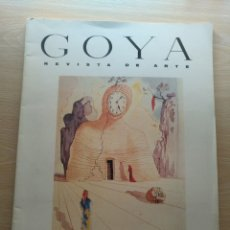 Coleccionismo de Revistas y Periódicos: REVISTA DE ARTE GOYA Nº 208 MADRID 1989 FUNDACIÓN JOSÉ LÁZARO GALDIANO. Lote 177200114