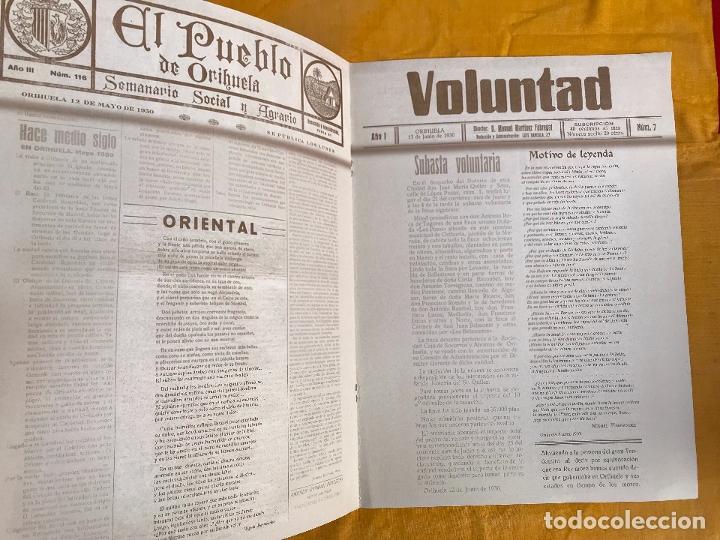 Coleccionismo de Revistas y Periódicos: Poemas de Miguel Hernández vinculados a las Fiestas de la Reconquista - Foto 3 - 177210565