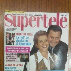 Coleccionismo de Revistas y Periódicos: SUPERTELE 2 REVISTAS MARZO DE 1994. Lote 177311569