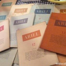 Coleccionismo de Revistas y Periódicos: REVISTAS ARIEL. Lote 177315663