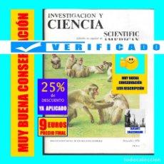 Coleccionismo de Revistas y Periódicos: INVESTIGACIÓN Y CIENCIA - SCIENTIFIC AMERICAN - NÚMERO 3 - DICIEMBRE 1976 - MUY BUEN ESTADO - RARO. Lote 177331304
