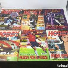 Coleccionismo de Revistas y Periódicos: HOBBY CONSOLAS LOTE 27 REVISTAS.. Lote 177393822