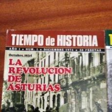 Collectionnisme de Revues et Journaux: TIEMPO DE HISTORIA: LA REVOLUCIÓN DE ASTURIAS. FASCISTAS EN EL 98. IFNI TERRITORIO OLVIDADO.. Lote 177423178