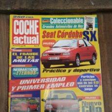 Coleccionismo de Revistas y Periódicos: REVISTA COCHE ACTUAL AÑO 1996. Lote 177475228