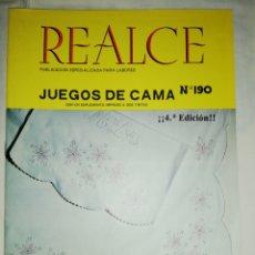 Coleccionismo de Revistas y Periódicos: REVISTA REALCE N° 190. Lote 177495115