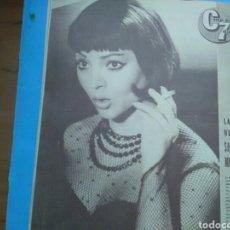 Coleccionismo de Revistas y Periódicos: CINE EN 7 DÍAS N° 130 ( 1963 .AÑO II ) GINA LOLLOBRIGIDA .ROCK HUDSON .CARROLL BAKER, POSTER CENTR. Lote 288001233