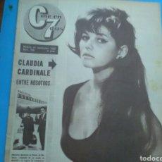 Coleccionismo de Revistas y Periódicos: CINE EN 7 DIAS N° 128 ( 1963 - AÑO II) C.C. PORTADA Y PÁG.CENTRALES - TY HARDIN . FRANK SINATRA.. Lote 177516660