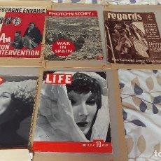 Coleccionismo de Revistas y Periódicos: REVISTAS ROBERT CAPA, GUERRA CIVIL. Lote 177520490