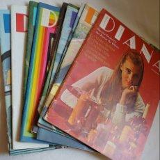 Coleccionismo de Revistas y Periódicos: 10 REVISTAS ANTIGUAS-DIANA. Lote 177528315
