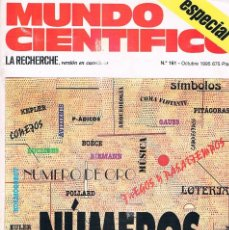 Coleccionismo de Revistas y Periódicos: REVISTA MUNDO CIENTIFICO NUMEROS ESPECIAL NUMERO 161 OCTUBRE 1995. Lote 177557389