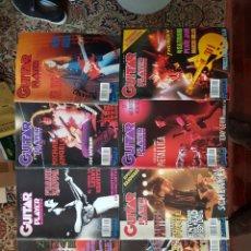 Coleccionismo de Revistas y Periódicos: GUITAR PLAYER. 10 REVISTAS + 1 GUITAR LEGENDS. Lote 177569687