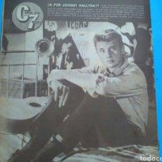Coleccionismo de Revistas y Periódicos: CINE EN 7 DÍAS .N°117 ( 1963 AÑO II) JOHNNY HALLYDAY - LA VERBENA - MARILYN , UN AÑO D SU MUERTE. Lote 177610439