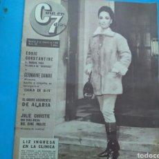 Coleccionismo de Revistas y Periódicos: CINE EN 7 DÍAS N° 95 ( 1963 AÑO II ) LIZ TAYLOR - EDDIE CONSTANTINE - MARIA FEJIX - JULIÀN MATEOS.. Lote 177613233
