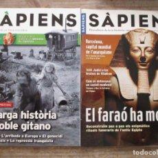 Coleccionismo de Revistas y Periódicos: SAPIENS - ENCICLOPEDIA CATALANA - MUY BUEN ESTADO - 56 EJEMPLARES + 4 SUPLEMENTOS - CATALA. Lote 177641322