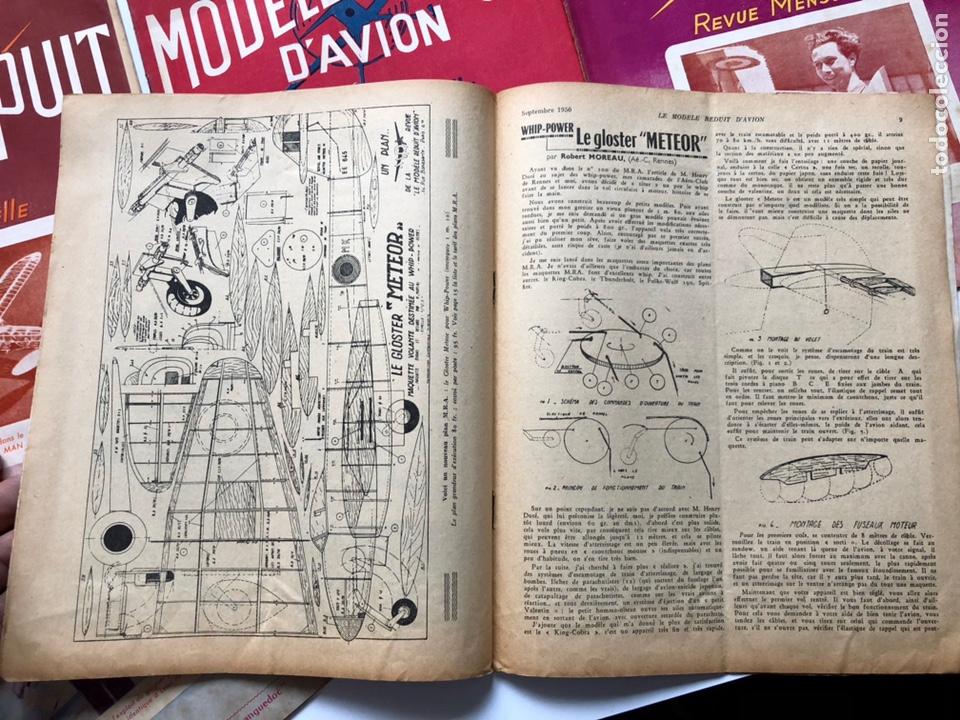 Coleccionismo de Revistas y Periódicos: Le Modèle Réduit d'Avion, 1950 ,aeromodelismo, aviones - Foto 3 - 177668822