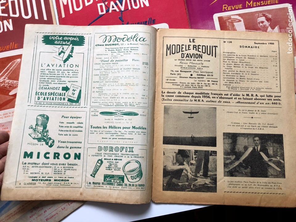 Coleccionismo de Revistas y Periódicos: Le Modèle Réduit d'Avion, 1950 ,aeromodelismo, aviones - Foto 4 - 177668822