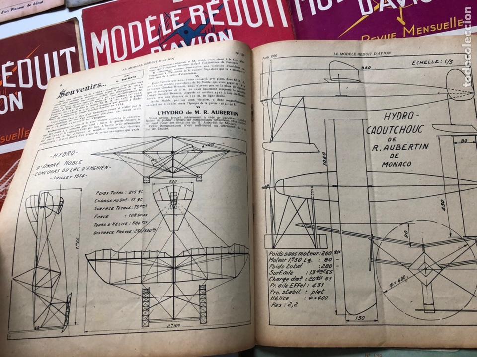 Coleccionismo de Revistas y Periódicos: Le Modèle Réduit d'Avion, 1950 ,aeromodelismo, aviones - Foto 5 - 177668822