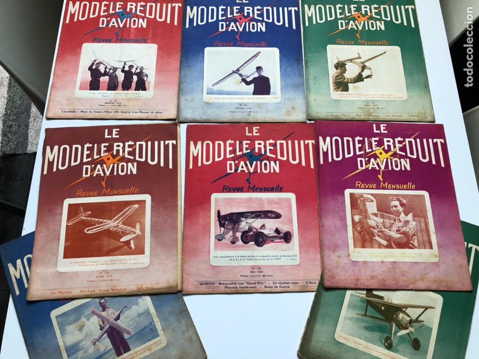LE MODÈLE RÉDUIT D'AVION, 1950 ,AEROMODELISMO, AVIONES (Coleccionismo - Revistas y Periódicos Modernos (a partir de 1.940) - Otros)
