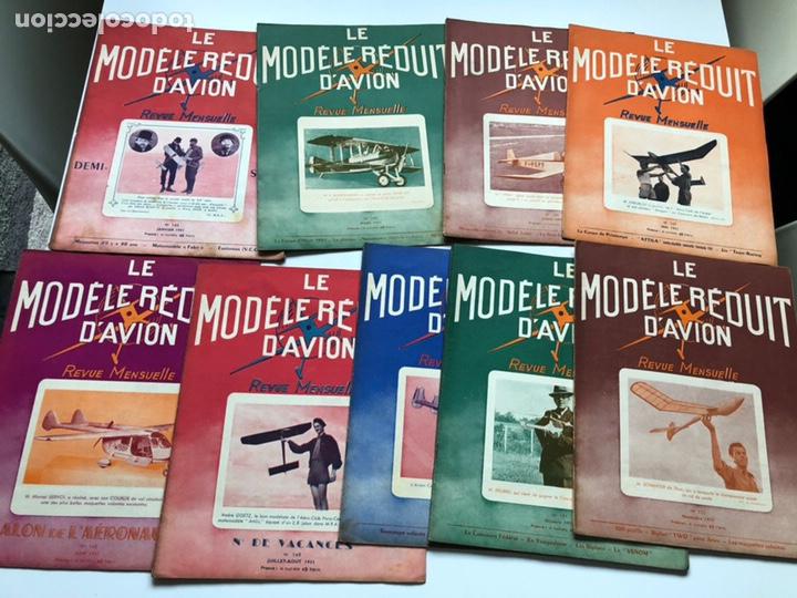 Coleccionismo de Revistas y Periódicos: Le Modèle Réduit d'Avion, 1951 ,aeromodelismo, aviones - Foto 2 - 177669349