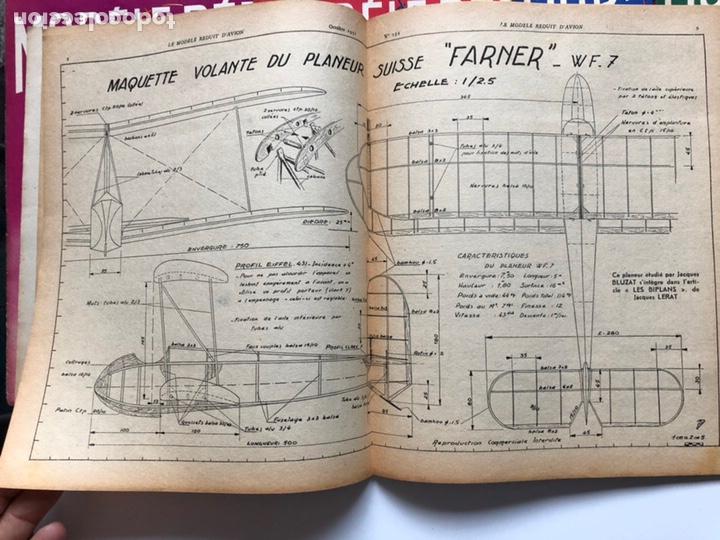 Coleccionismo de Revistas y Periódicos: Le Modèle Réduit d'Avion, 1951 ,aeromodelismo, aviones - Foto 4 - 177669349