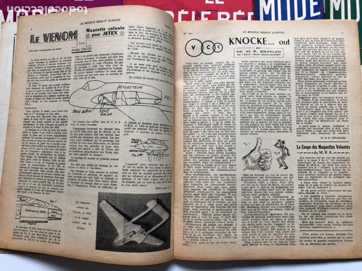Coleccionismo de Revistas y Periódicos: Le Modèle Réduit d'Avion, 1951 ,aeromodelismo, aviones - Foto 5 - 177669349