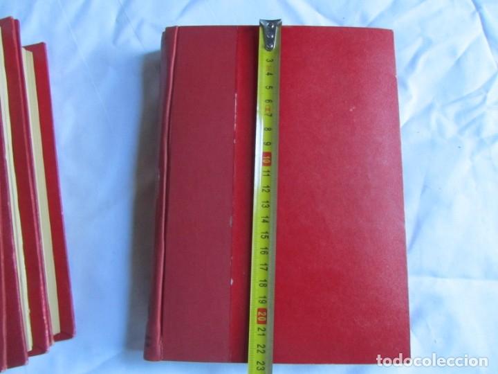 Coleccionismo de Revistas y Periódicos: 46 números de Revista Literaria, Novelas y cuentos 1950-51-52. Encuadernados en 6 tomos - Foto 3 - 177672488