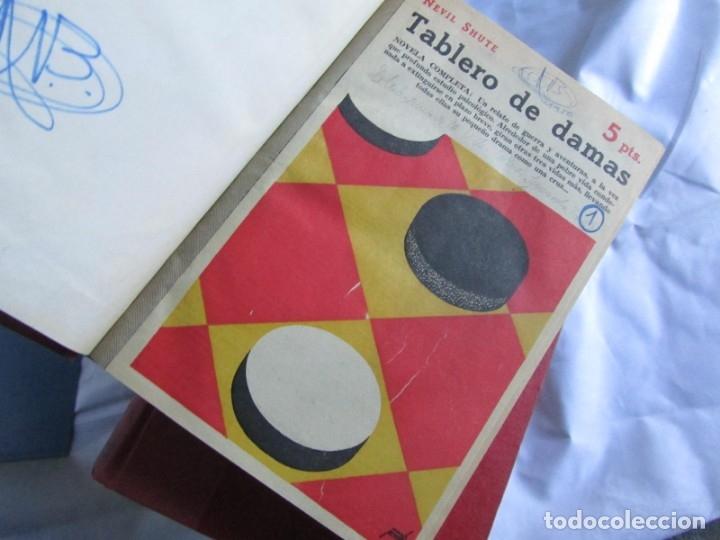 Coleccionismo de Revistas y Periódicos: 46 números de Revista Literaria, Novelas y cuentos 1950-51-52. Encuadernados en 6 tomos - Foto 5 - 177672488