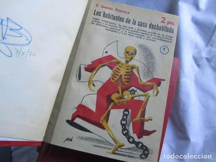 Coleccionismo de Revistas y Periódicos: 46 números de Revista Literaria, Novelas y cuentos 1950-51-52. Encuadernados en 6 tomos - Foto 9 - 177672488