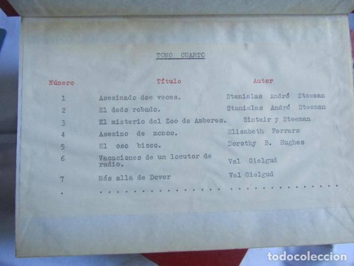 Coleccionismo de Revistas y Periódicos: 46 números de Revista Literaria, Novelas y cuentos 1950-51-52. Encuadernados en 6 tomos - Foto 10 - 177672488