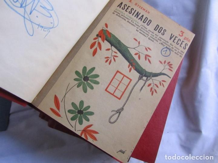 Coleccionismo de Revistas y Periódicos: 46 números de Revista Literaria, Novelas y cuentos 1950-51-52. Encuadernados en 6 tomos - Foto 11 - 177672488