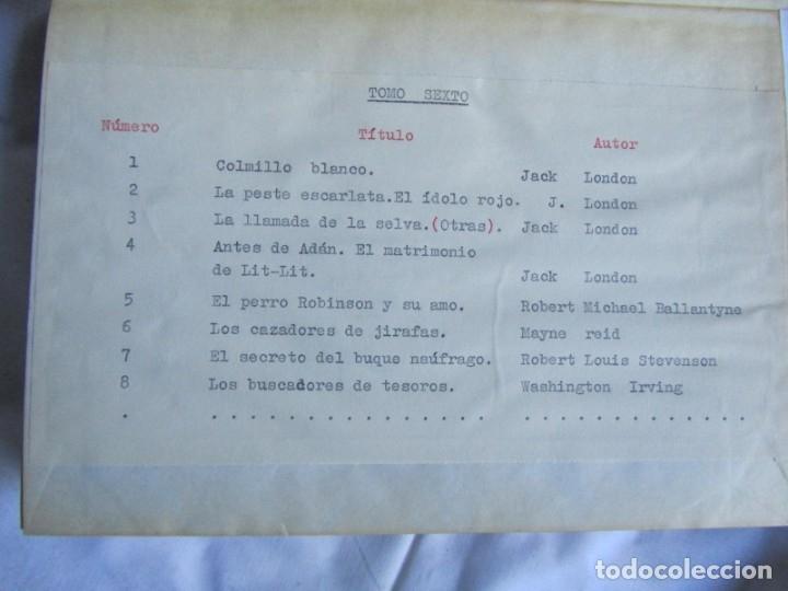 Coleccionismo de Revistas y Periódicos: 46 números de Revista Literaria, Novelas y cuentos 1950-51-52. Encuadernados en 6 tomos - Foto 14 - 177672488