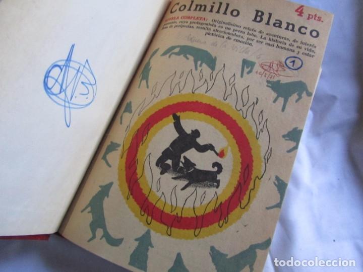 Coleccionismo de Revistas y Periódicos: 46 números de Revista Literaria, Novelas y cuentos 1950-51-52. Encuadernados en 6 tomos - Foto 15 - 177672488